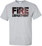 DISTRESSED Gibbon Fire Department GFR DISTRESSED Adult & Youth Tee