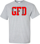 GFD Gibbon Fire Department GFR Adult & Youth GFD Tee