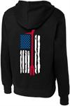 Lace Up Halligan Flag Hoodie GFR GFR Lace Up Halligan Flag Hoodie