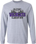 Long Sleeve Class of 78 T-shirt Long Sleeve T-shirt