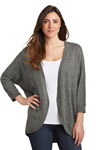 Transmed, Inc. Ladies Marled Cocoon Sweater Ladies Marled Cocoon Sweater